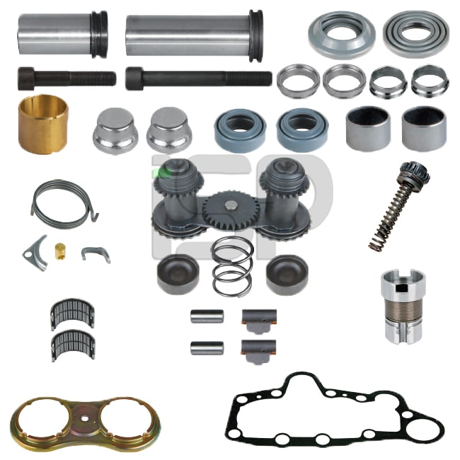 Caliper Complete Repair Kit - L - (Without Lever)
